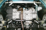 Защита моторного отсека OPEL Corsa C 2006-2014 0