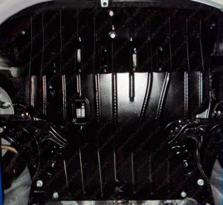 Защита моторного отсека JAC J2 1,2 МКПП 2012-