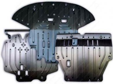 Защита двигателя и КПП SKODA Roomster (2006+) 1,4; 1,6 СНГ